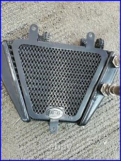 07-13 Ducati 848 1098 1198 Sp Evo Engine Cooling Oil Cooler With Lines R&g Guard