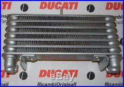 2001 DUCATI 996R oil cooler radiator 54840361A, modify for 2002-04 998 Bostrom