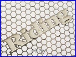 2003 DUCATI 999R RidingHouse Radiator & Oil Cooler Core Guard Set 749R ppp