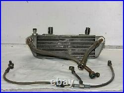 2004 Ducati Monster S4r 996 Engine Oil Cooler Radiator And Lines