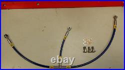 Black Ducati 916 Hel Braided Line Oil Cooler Hose