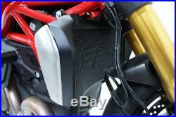 DUCATI MONSTER 1200 & S 2013 + RADIATOR OIL COOLER AND ENGINE GUARD SET EvoTech