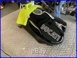 Ducati 748 916 Tank Piano Black P/N 58610250BA