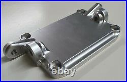 Ducati Rocker Cover Oil Cooler Mounting Clear Aluminium 748 916