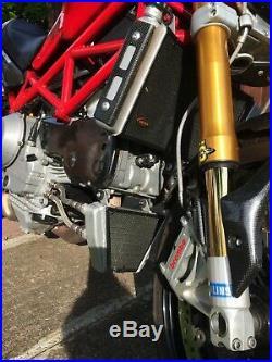 Ducati S4RS WarpSpeed Stainless Steel Radiator & Oil Cooler Guard Testastretta