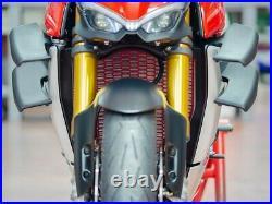 Ducati Streetfighter V4 /S Ducabike Radiator & Oil Cooler Guard Kit Black or Red