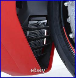 Ducati Supersport 2017 R&G Racing Oil Cooler Guard OCG0031SI Silver