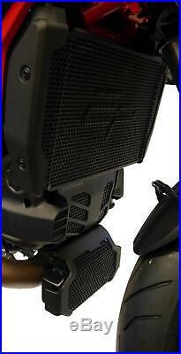 EP Ducati Hypermotard 939 SP Radiator, Engine & Oil Cooler Guard Set 2016 2018