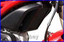 Evotech Performance Ducati Monster 1100 S Oil Cooler Guard 2009 2015