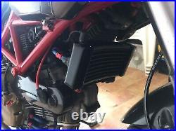 Heizkörper Erhöht Öl Ducati Strada Hypermotard 796 -1100 Von 2008-2012