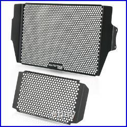 LQ 1 SET Radiator Guard&Oil cooler Guard For Ducati Multistrada 1200 2010-2014