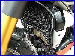 R&G RACING BLACK RADIATOR & OIL COOLER GUARD SET Ducati Streetfighter 1098 2009