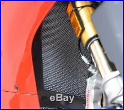 R&G Titanium Radiator & Oil Cooler Guard Kit Ducati Panigale V4 V4S & Speciale