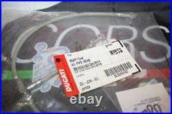 Tubo Olio Testa Inox per Ducati 748-888-916-996 -Monster S4- ST4 Cod 96805494B